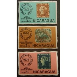 Nicaragua YT 1057-1059 **