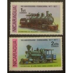 Nicaragua YT 1098-1099 **