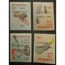 Nicaragua YT PA 522-525 **