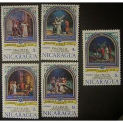 Nicaragua YT 1009-1013 **