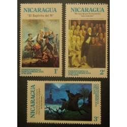 Nicaragua YT 998-1000 **