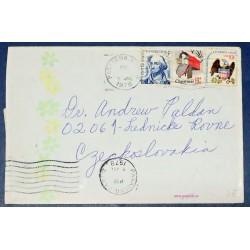 Etat-Unis USA, Lettre...