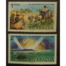 Nicaragua YT 1104-1105 **