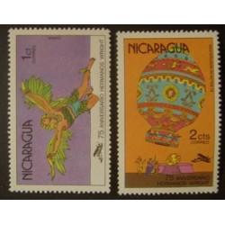 Nicaragua YT 1110-1111 **