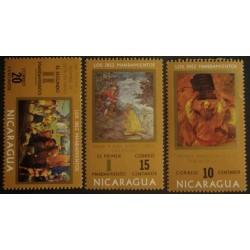 Nicaragua YT 920-922 **