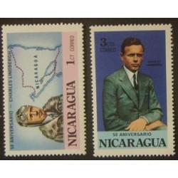 Nicaragua YT 1069-1070 **