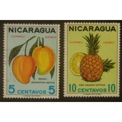 Nicaragua YT PA 608-609 Obl