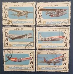 Cuba Mi 2430-2435 Obl