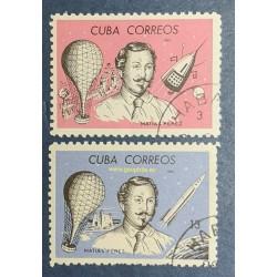 Cuba Mi 1033-1034 Obl