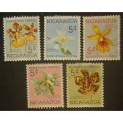 Nicaragua YT 859, 861, 865,...