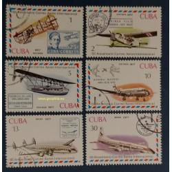 Cuba Mi 2248-2253 Obl