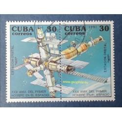 Cuba Mi 3469-3470 Obl
