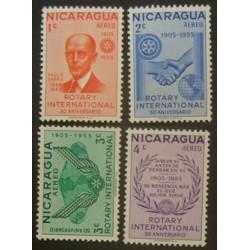Nicaragua YT PA 324-327 **