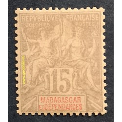 Madagascar (Madagaskar) YT 44*