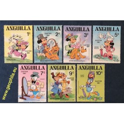 Anguilla YT 401-406 ** (Mi...