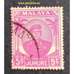 Johore ( Johor) YT 113A Obl...