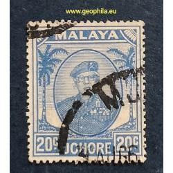 Johore ( Johor) YT 118A Obl...