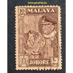 Johore ( Johor) YT 137 Obl...
