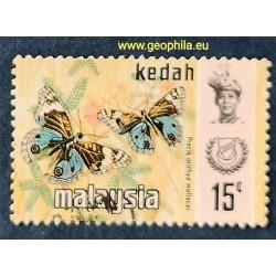 Kedah YT 124a Obl (SG 133)