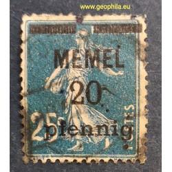 Memel (Klaipeda) YT 20 Obl