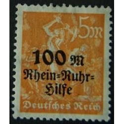 Allemagne Rep de Weimar YT...