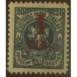 Lituanie (Litva) YT 131 **