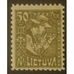 Lituanie (Litva) YT 90 dent...