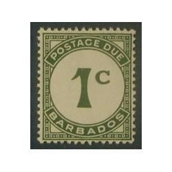 Barbade (Barbados) YT Taxe 4 *