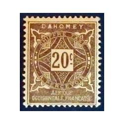Dahomey (Dahome) YT Taxe 12 *
