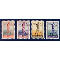 Paraguay  YT 572-575 **