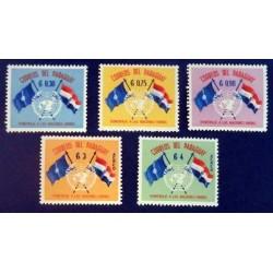 Paraguay  YT 585-587 + PA...