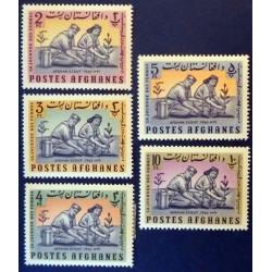 Afghanistan YT 770-774 *