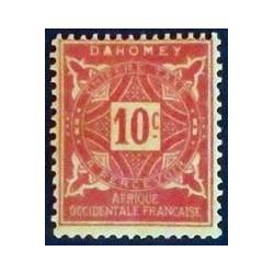 Dahomey (Dahome) YT Taxe 10 *