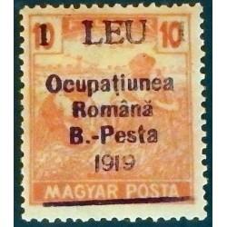 B. - PESTA  1919  Roumanie...