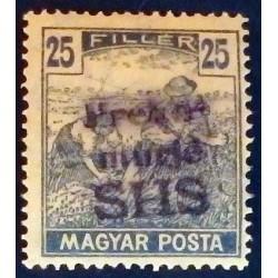 PREKOMURJE 1918-19 Croatie...