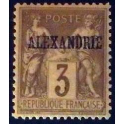 Alexandrie (Alexandria) YT 3 *