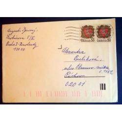 Lettre Tchecoslovaquie + au...