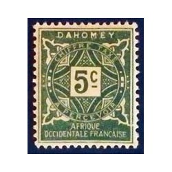 Dahomey (Dahome) YT Taxe 9 *
