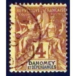 Dahomey (Dahome) YT 8 Obl