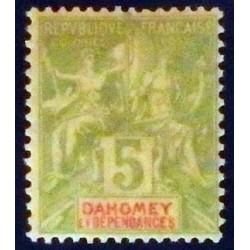 Dahomey (Dahome) YT 9 *