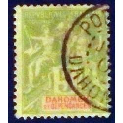 Dahomey (Dahome) YT 9 Obl