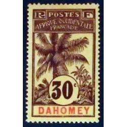 Dahomey (Dahome) YT 25 (*)
