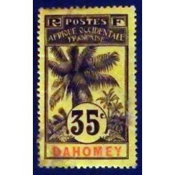 Dahomey (Dahome) YT 26 Obl
