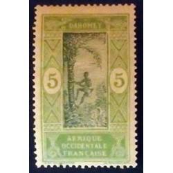 Dahomey (Dahome) YT 46 *