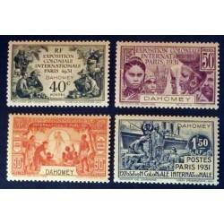 Dahomey (Dahome) YT 99 a 102 *