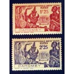 Dahomey (Dahome) YT 113 et...
