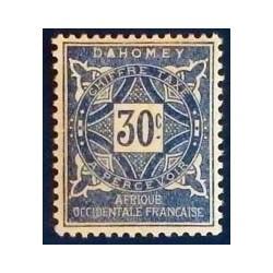 Dahomey (Dahome) YT Taxe 13 *