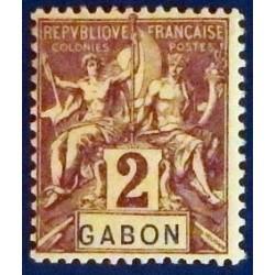 Gabon (Gabun) YT 17 *