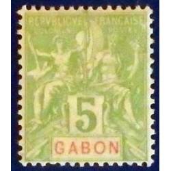 Gabon (Gabun) YT 19 *