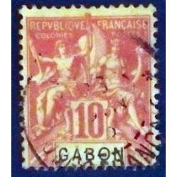 Gabon (Gabun) YT 20 Obl